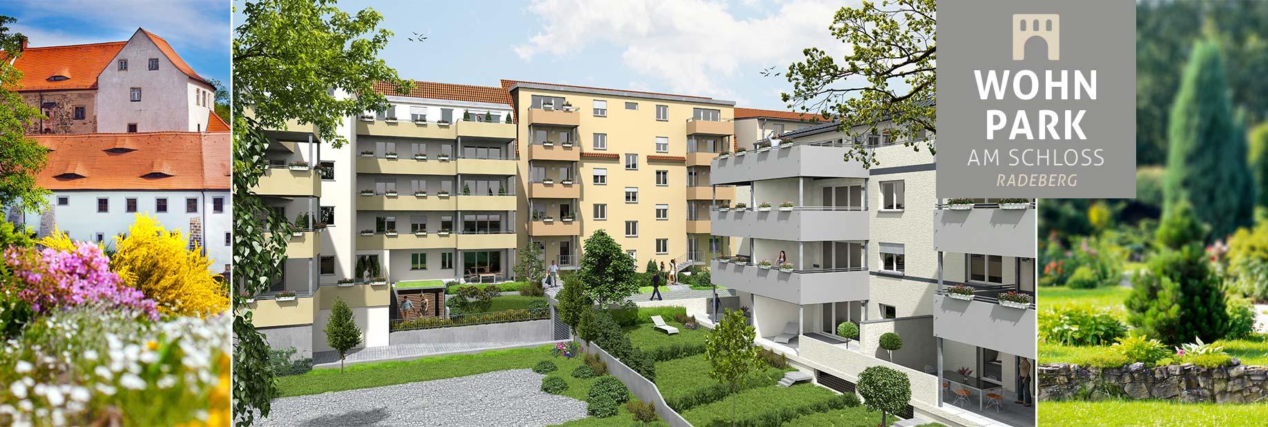 Bauvorhaben Neubau Eigentumswohnungen Pulsnitzer Straße 38-40 in Radeberg bei Dresden