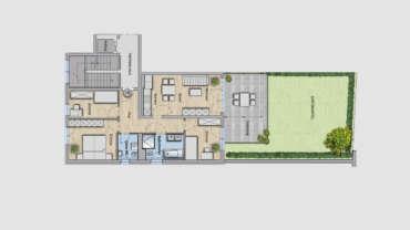 4-Raum Wohnung WE04