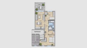 3-Raum Wohnung WE06