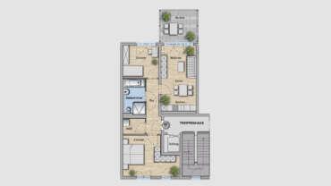 3-Raum Wohnung WE07