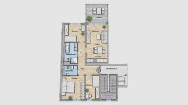 4-Raum Wohnung WE09