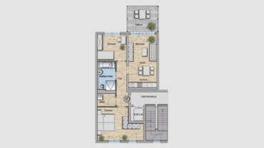 3-Raum Wohnung WE11