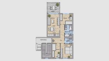 4-Raum Wohnung WE12