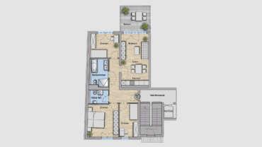4-Raum Wohnung WE13