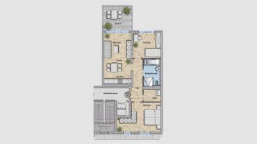 3-Raum Wohnung WE14