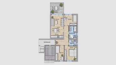 4-Raum Wohnung WE16