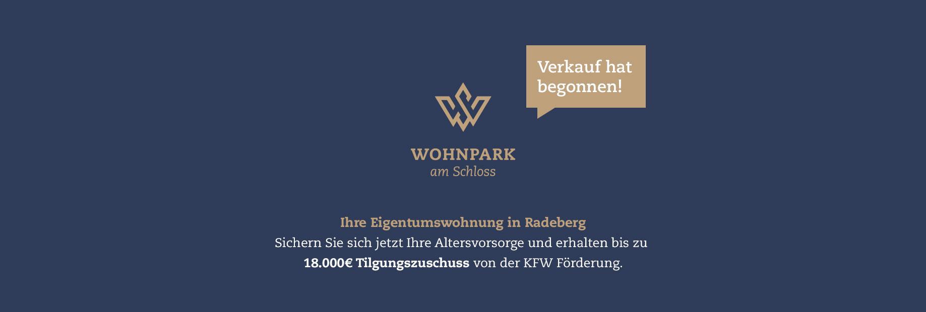 Wohnpark am Schloss Eigentumswohnungen Radeberg